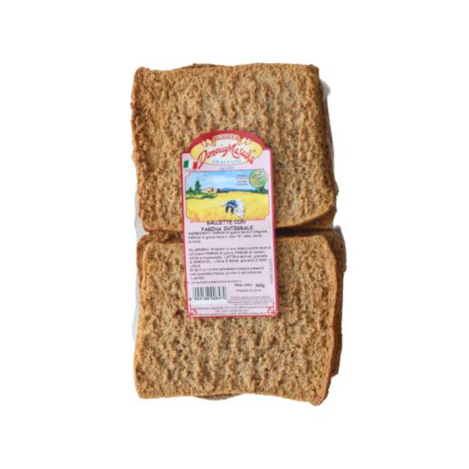 gallette con farina integrale