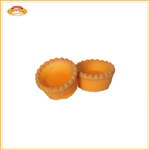 tartelle glassate arancia